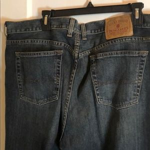 lucky brand Vintage Men's dungarees bootLeg jeans